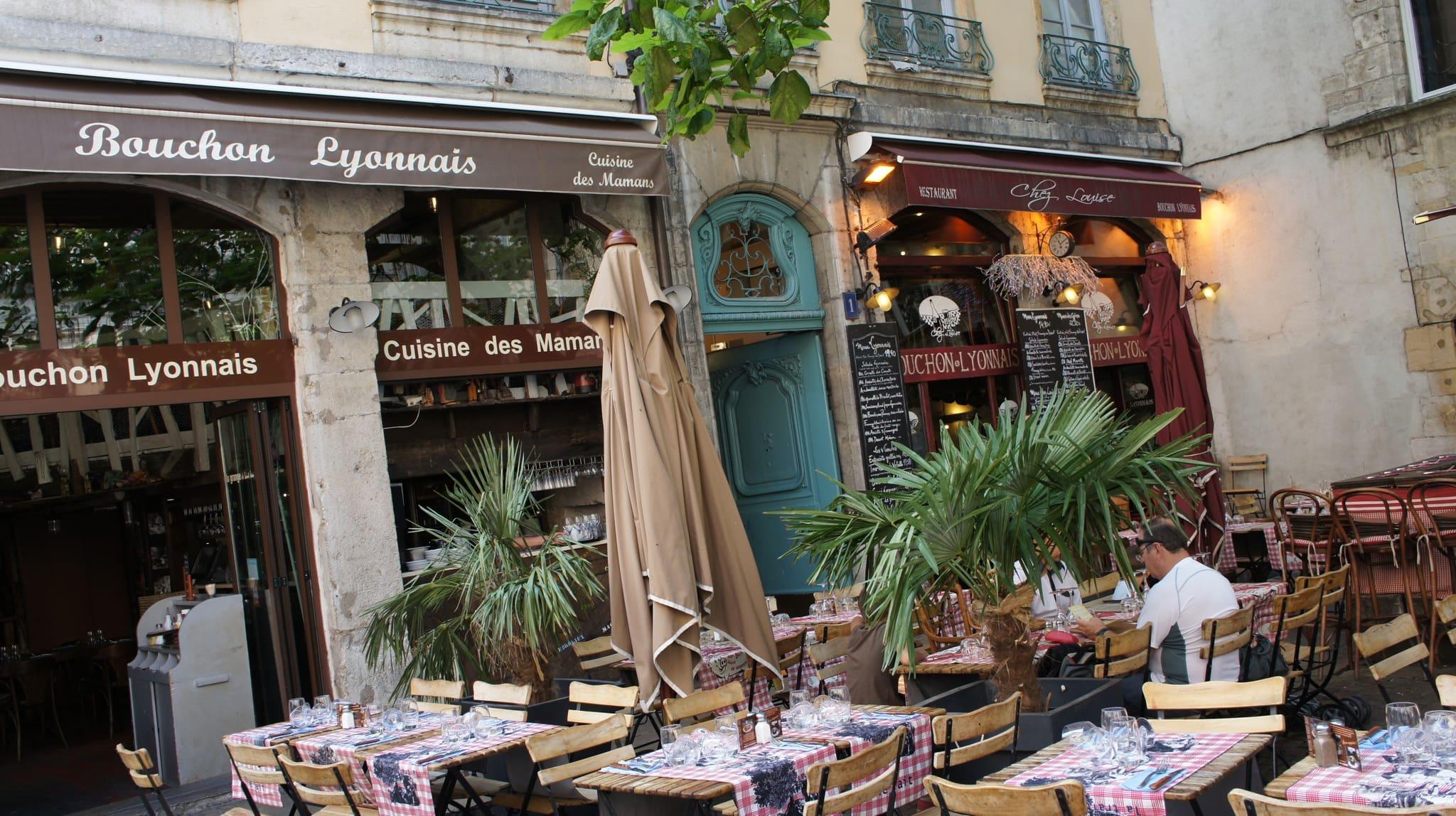 Terrasse Bouchons Vieux Lyon Saint-Jean
