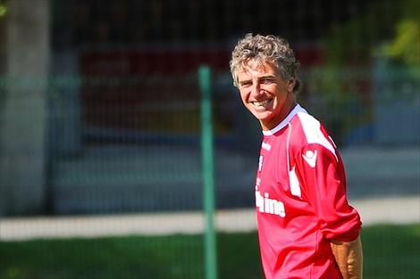 Entretien avec entraîneur lorientais avant Lyon-Lorient