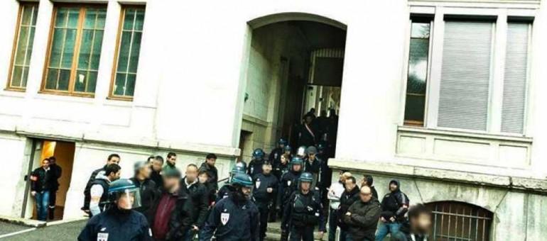 CRS à Lyon 2 : le témoignage d'un étudiant contestataire