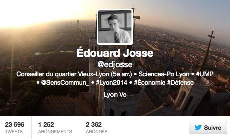 Edouard, l'étudiant lyonnais devenu incontournable à l'UMP grâce à son stage