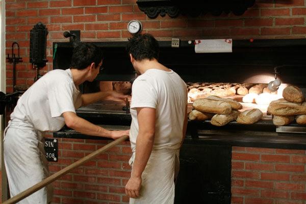 Emmanuel et Rachid au pain
