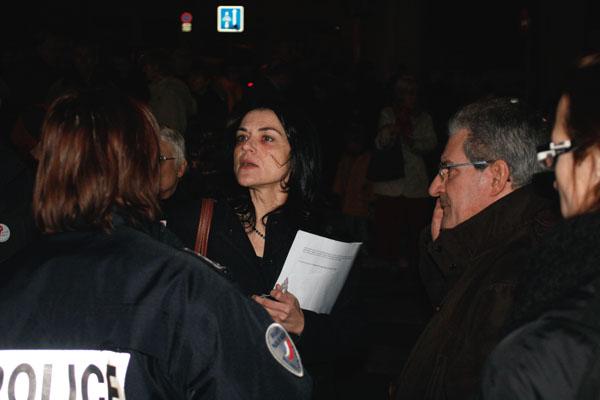 Nathalie Perrin-Gilbert et Armand Creus - collège Truffaut