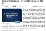 Vigie-emprunts toxiques Rhône