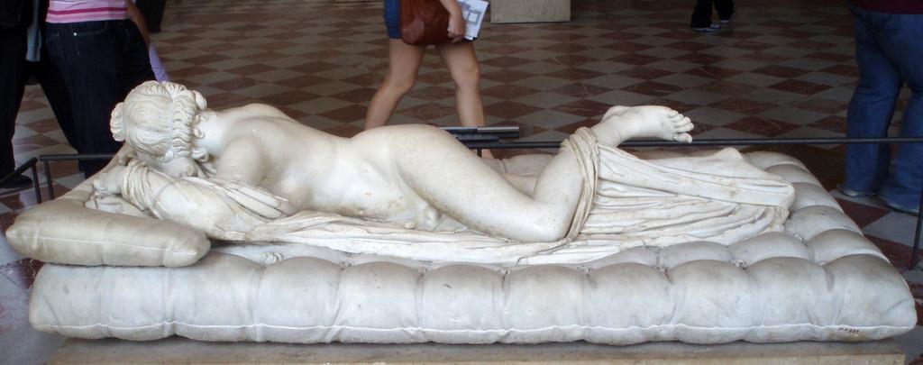 hermaphrodite Louvre