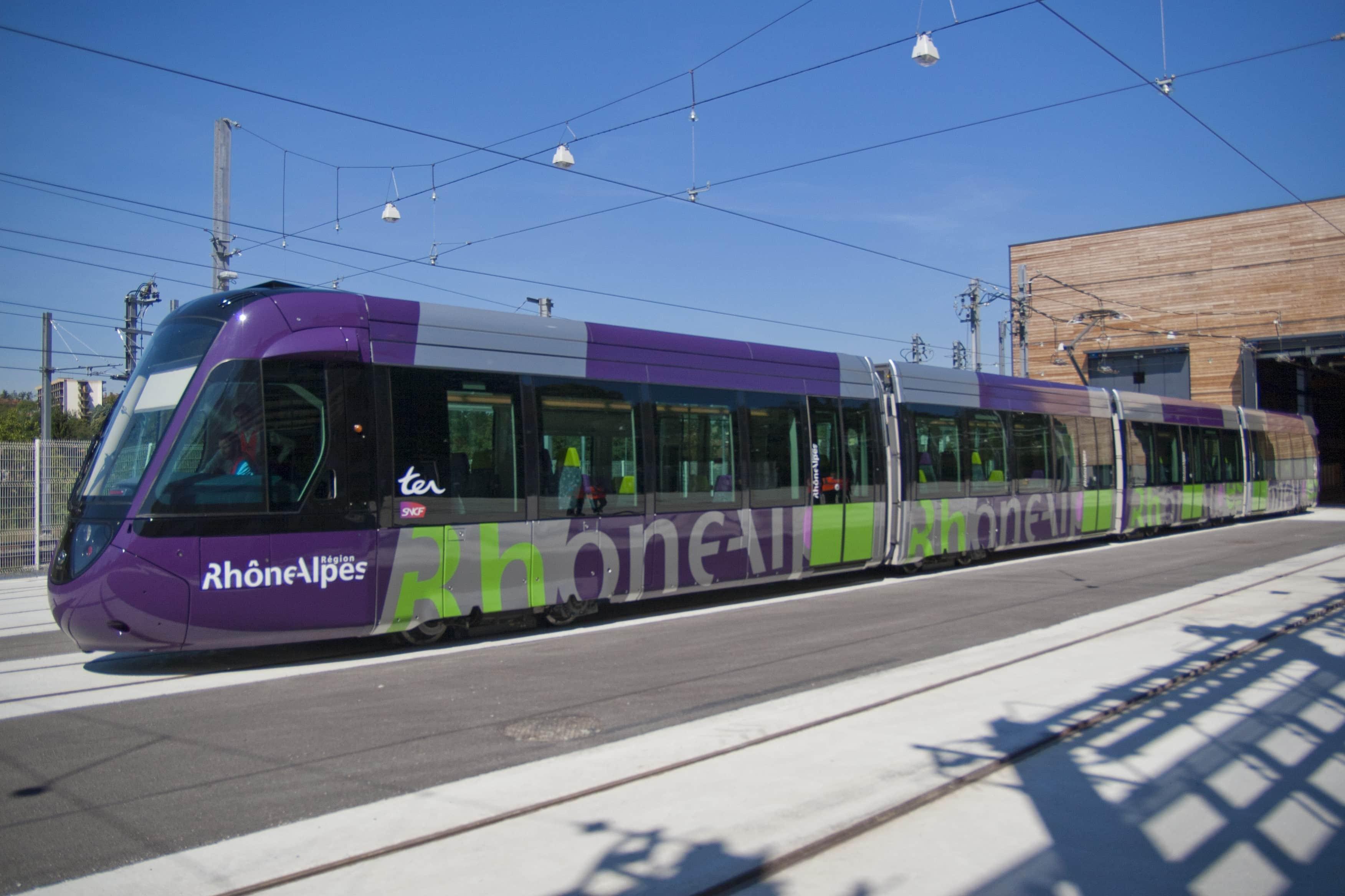Tram-train de l'Ouest lyonnais
