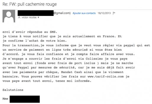 phishing   l u2019arnaque paypal qui se propage sur le bon coin