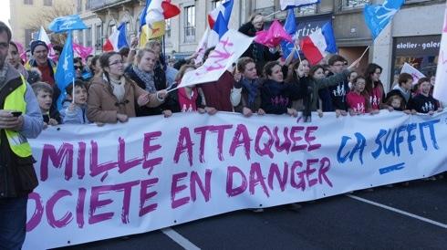 A Lyon, la Manif pour tous promeut sa prétendue «théorie du genre»