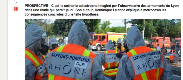 Et si une bombe nucléaire explosait sur Lyon ? Le scénario catastrophe.