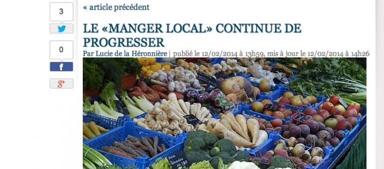 Circuits courts et consommation raisonnée, le locavorisme en hausse en France
