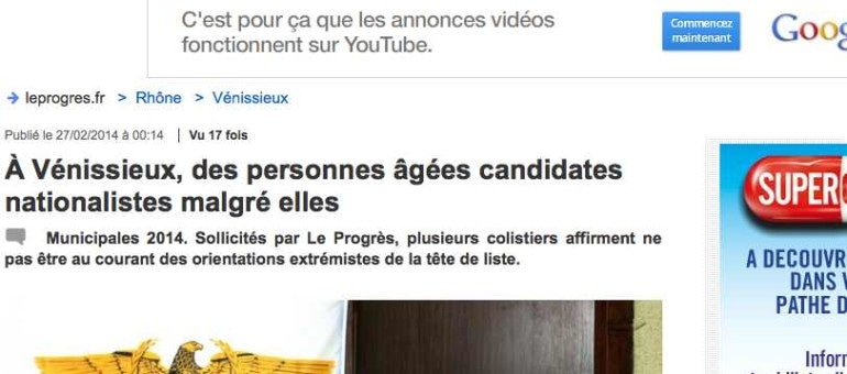 A Vénissieux, les ultranationalistes ont-ils abusé leurs colistiers âgés ?
