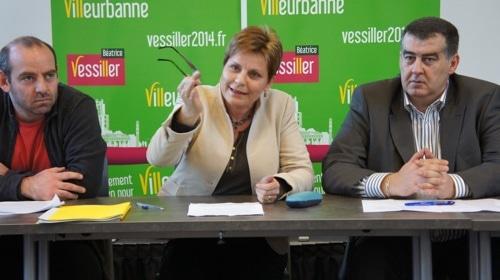 Municipales à Villeurbanne : l'écolo Béatrice Vessiller se voit détrôner le «monarque» Jean-Paul Bret