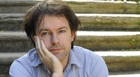 Yannick Haenel, auteur du roman Les Renards pâles.