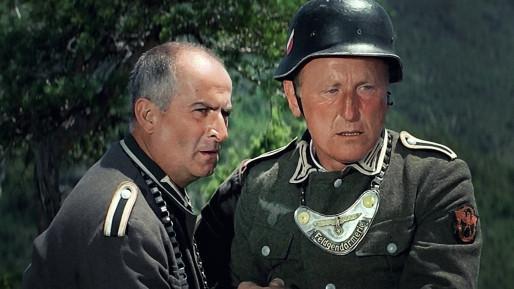 Louis de Funès et Bourvil, La Grande vadrouille (Gérard Oury, 1966).
