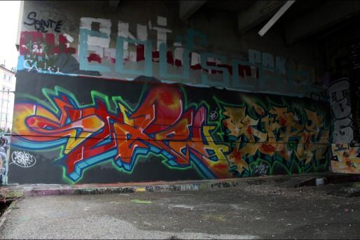 Un graff stéphanois sur www.allcityblog.fr.