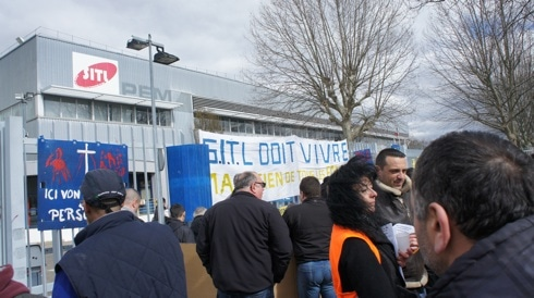 A Lyon, l'économie circulaire sauvera-t-elle les ex-FagorBrandt de SITL?