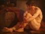 Un Prisonnier romain (peinture 18e).