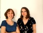 Anne-Charlotte Husson et Cécile Thomé ont animé la première conférence du labo GenERe. Crédits photo : Rue89Lyon/Camille Romano
