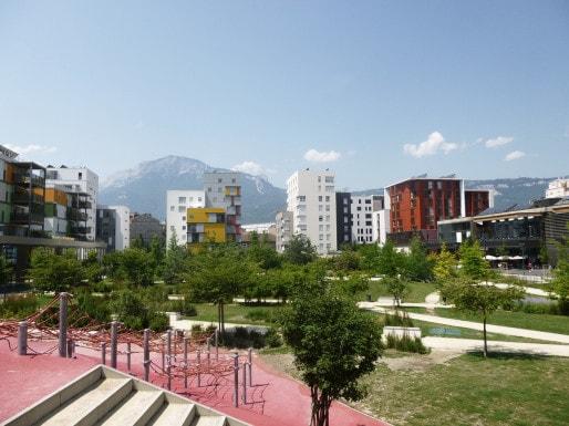 L'écoquartier de Bonne à Grenoble