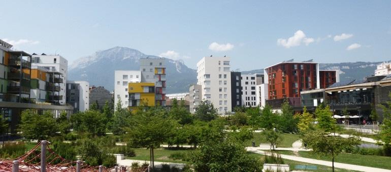 A Grenoble, la vie en écoquartier : «C'est beau mais y a plein de bestioles»