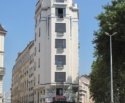 Rue Saint-Cyr, le premier gratte-ciel lyonnais