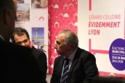Georges Képénékain, actuel adjoint à la Culture de Gérard Collomb, qui a fait partie de son équipe resserrée pendant la campagne.