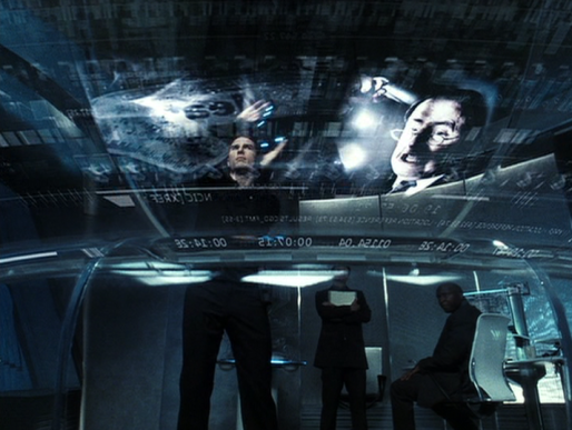 Image tirée du film de Steven Spielberg, Minority report (2002).