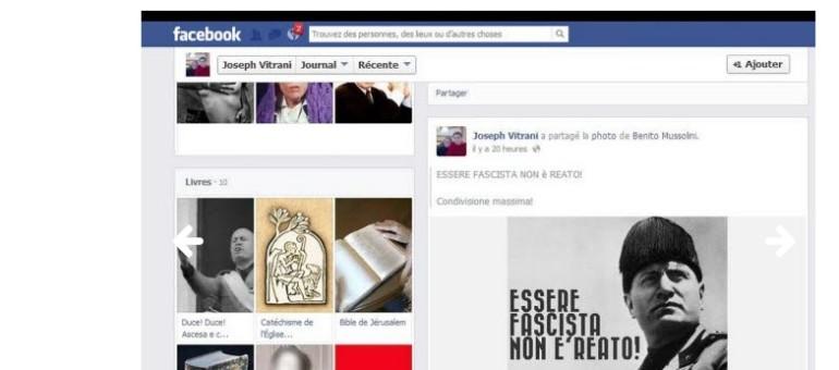 Municipales à Roanne : un candidat FN affiche Mussolini sur sa page Facebook