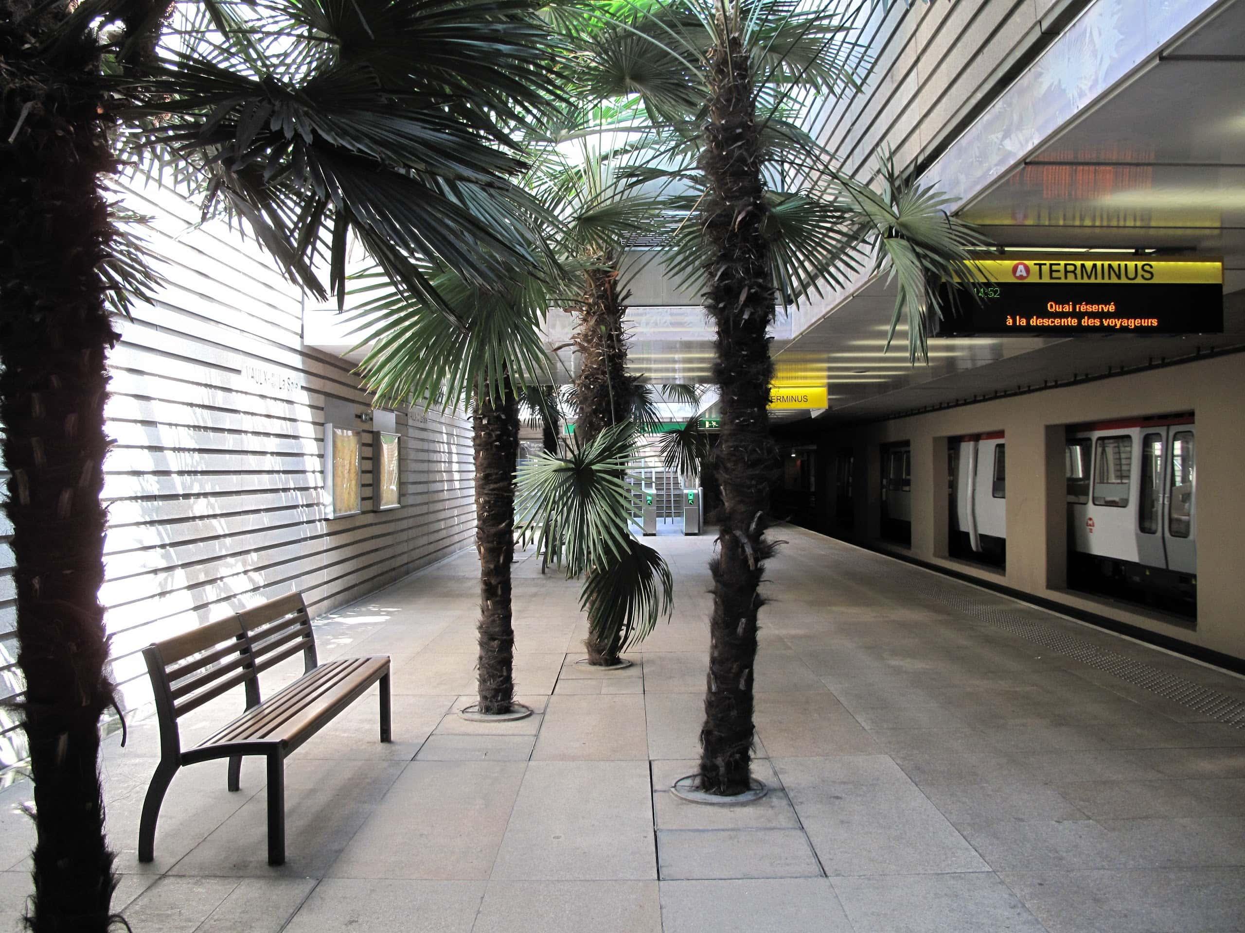Métro de Lyon: on connaît le niveau de pollution de l'air dans les stations