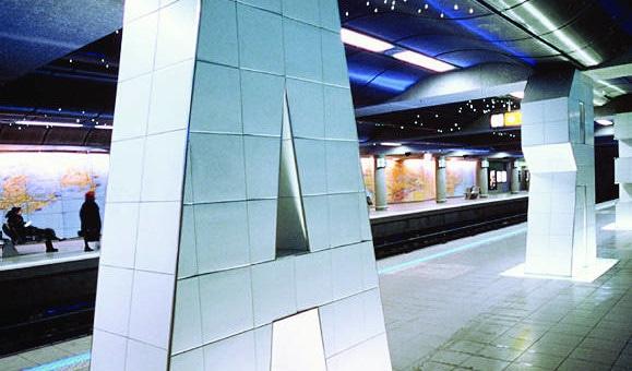 Station de métro Jean Jaurès, l'hommage à la mobilité