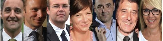 Les nouvelles têtes UMP dans le Grand Lyon.