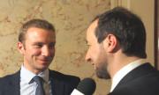 Alexandre Vincendet, élu maire de Rillieux à 30 ans, en 2014. ©Rue89Lyon