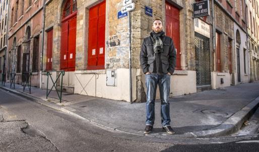 Ludovic Villard, auteur de la première nouvelle du projet Reset ©octokunst
