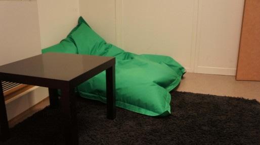 Salle de sieste de Novius. ©Rue89Lyon