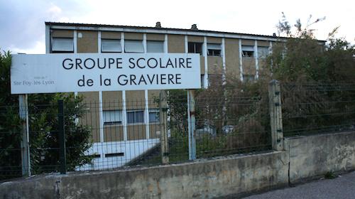 Ecole de la la Gravière à Sainte-Foy-lès-Lyon