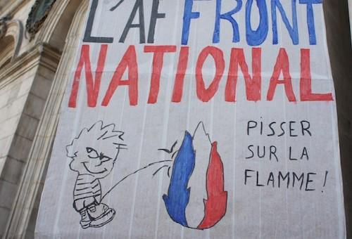 Manif contre le FN à Lyon : «il faut un coup de barre à gauche»