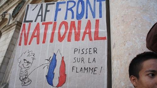Congrès du FN à Lyon : mobilisation importante contre le parti de Marine Le Pen