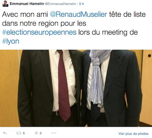 Tweet Emmanuel Hamelin