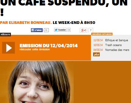 Les cafés suspendus, la solidarité du petit noir au Court-Circuit à Lyon