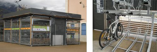 Des consignes à vélo sur le site www.ter-velo-rhonealpes.com/