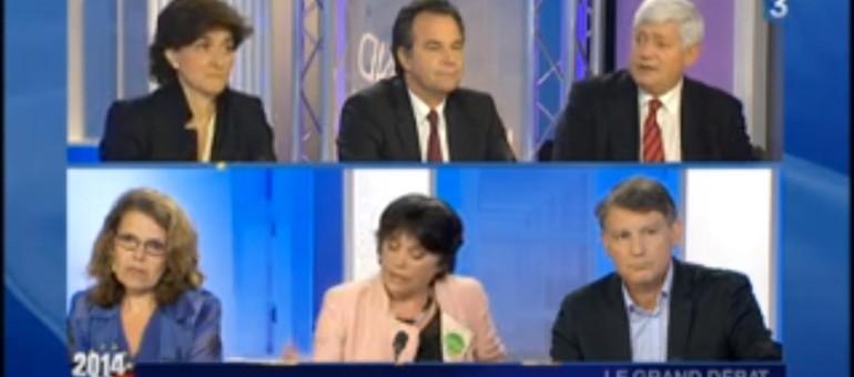 [Vidéo] Les candidats de la région Sud-Est aux élections européennes en débat