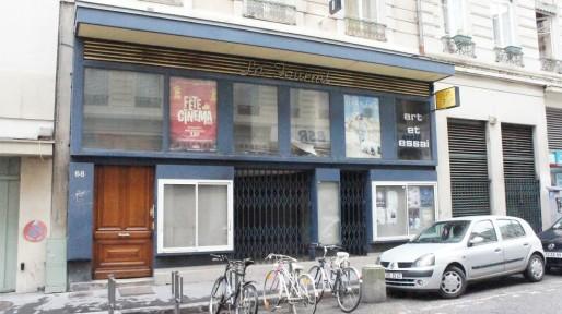 Le cinéma La Fourmi, fermé depuis 2012, va réouvrir à l'automne 2014. Crédit : Clémence Delarbre/Rue89Lyon.