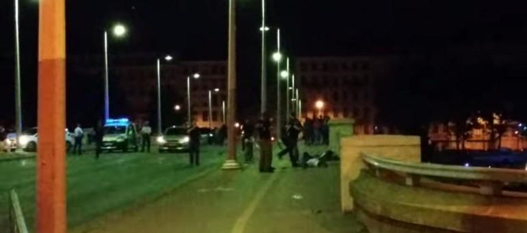 Sur le pont Wilson à Lyon, une bavure policière après la victoire de l'Algérie ?