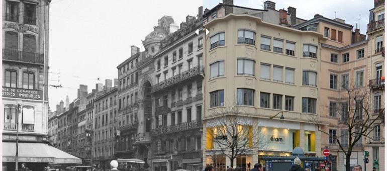 Rétro Lyon : voyage dans le temps, du p'tit café au MacDo