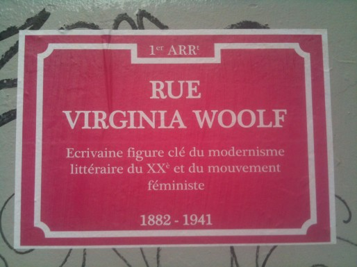 rue virginia woolf heteroclite