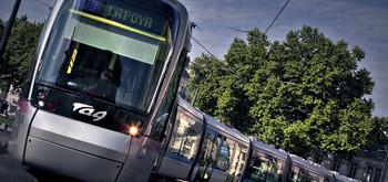 A Grenoble, inauguration d'une cinquième ligne de tram