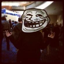 Trollface (Sarah Hickox/Flickr/CC)
