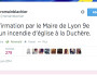 tweet-romain-blachier-incendie-eglise-duchere