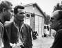 McQueen, Garner et John Sturges (La Grande Evasion).