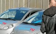 Bluely - véhicules dans la banlieue lyonnaise
