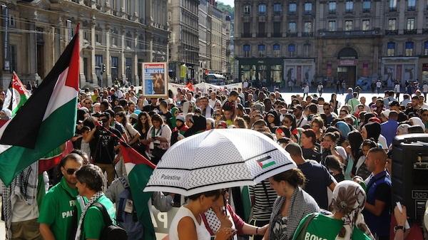 À Lyon, un rassemblement de soutien à Gaza : «nous n'avons rien contre les Juifs»